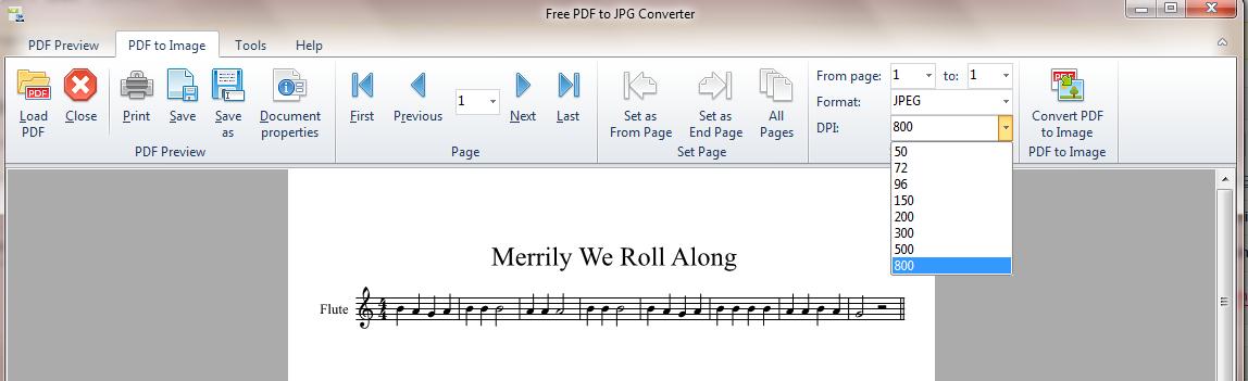 pdf to jpg dpi setting
